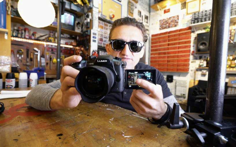 Casey Neistat vlogging camera 2018