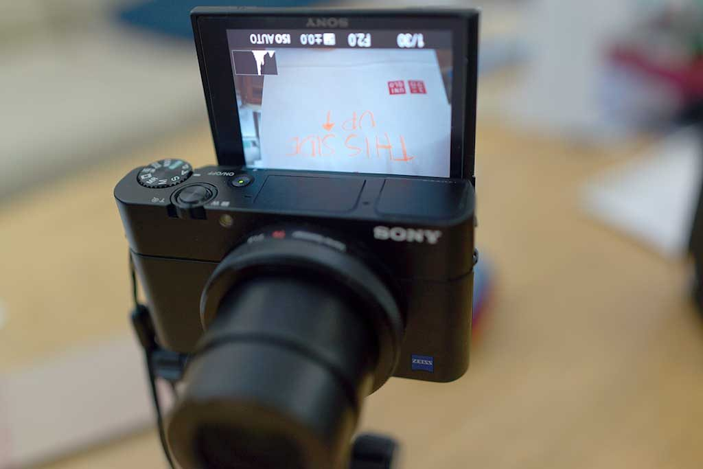 Sony RX100 V LCD Error