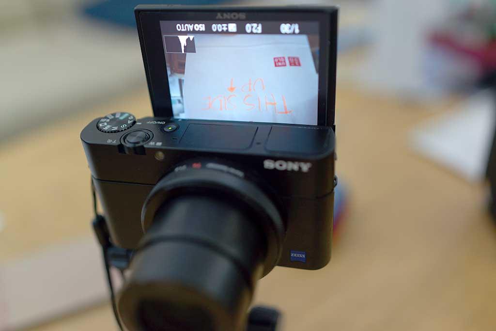 selfie mode camera