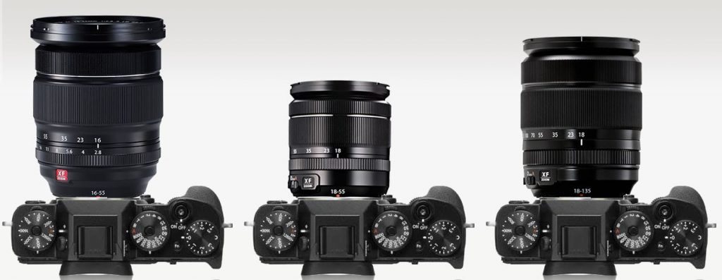 Fuji 18-55mm vs Fuji 18-135mm vs 16-55mm f/2.8