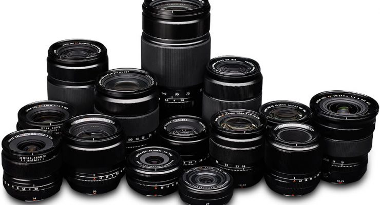 Complete list of Fuji prime lenses