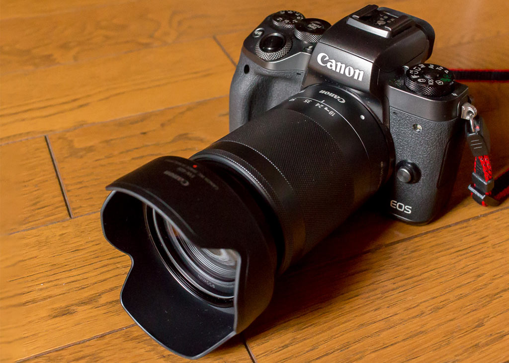 Canon EF-M 18-150mm ultrazoom, the best travel lens for the M50, M6, M200