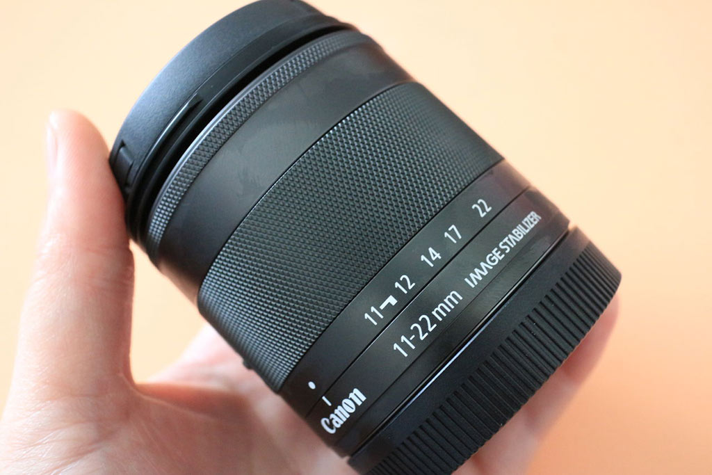 Canon EF-M 11-22mm Ultrawide lens for M50, M6, M5, M200