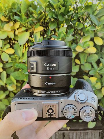 Canon EF-EOS M mount adapter for DSLR EF-S EF lenses