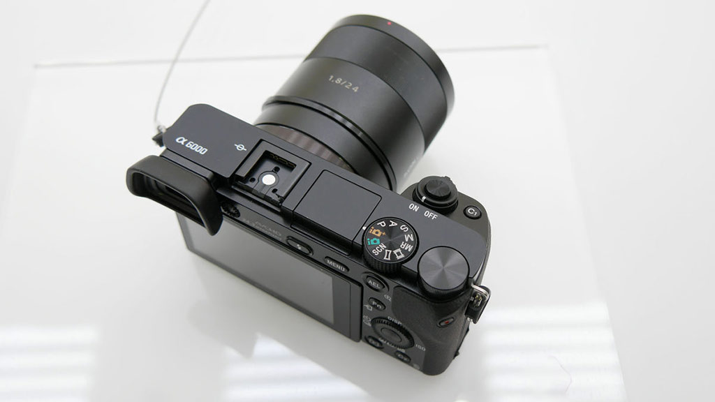 Sony Zeiss 24mm f/1.8 size on Sony a6000